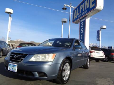 2010 Hyundai Sonata for sale at Alpine Auto Sales in Salt Lake City UT
