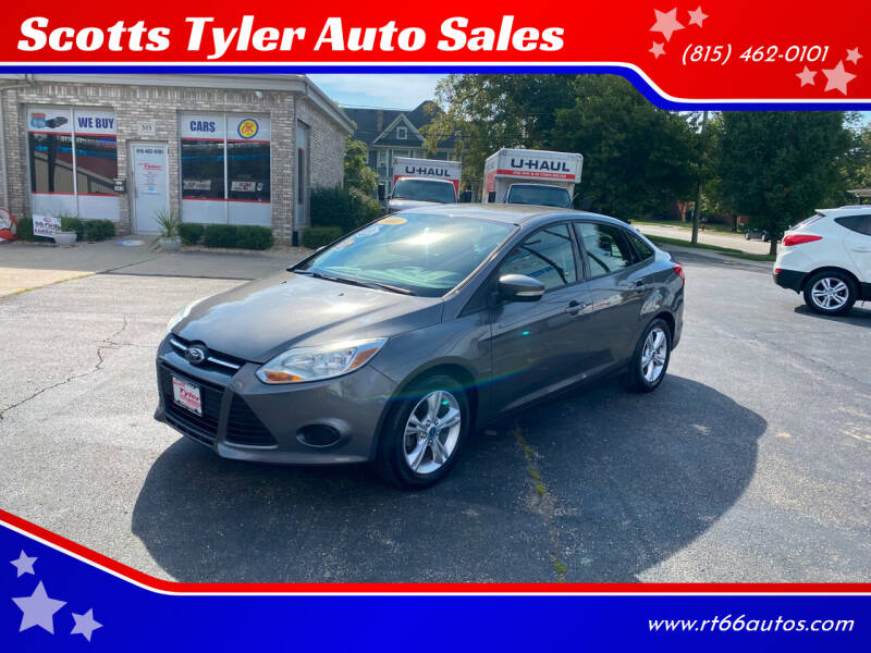 2013 Ford Focus for sale at Scotts Tyler Auto Sales in Wilmington IL