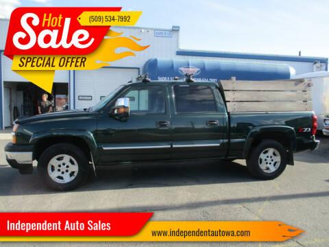 2005 Chevrolet Silverado 1500 for sale at Independent Auto Sales in Spokane Valley WA