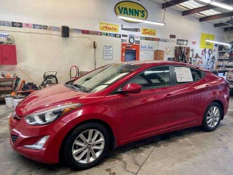 2015 Hyundai Elantra for sale at Vanns Auto Sales in Goldsboro NC
