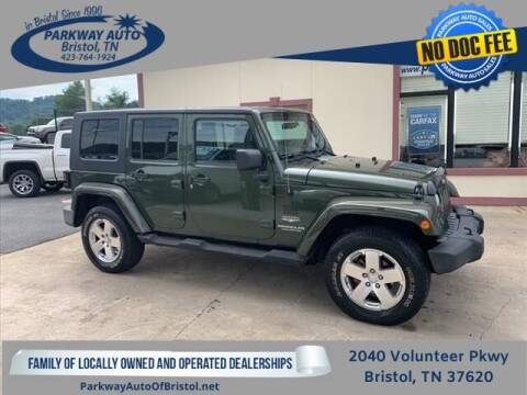 2008 Jeep Wrangler Unlimited for sale at PARKWAY AUTO SALES OF BRISTOL in Bristol TN