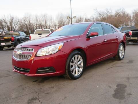 2013 Chevrolet Malibu for sale at Low Cost Cars North in Whitehall OH