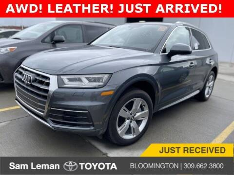 2018 Audi Q5 for sale at Sam Leman Toyota Bloomington in Bloomington IL