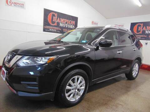 2017 Nissan Rogue for sale at Champion Motors in Amherst NH