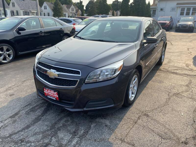 2013 Chevrolet Malibu for sale at CLASSIC MOTOR CARS in West Allis WI