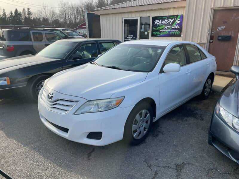 2010 Toyota Camry for sale at Randys Auto Sales in Gardner MA