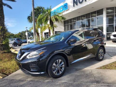 2018 Nissan Murano for sale at Mazda of North Miami in Miami FL