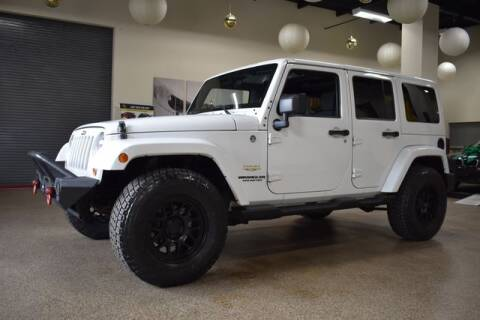 2012 Jeep Wrangler Unlimited for sale at DONE DEAL MOTORS in Canton MA