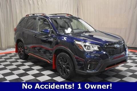 2020 Subaru Forester for sale at Vorderman Imports in Fort Wayne IN