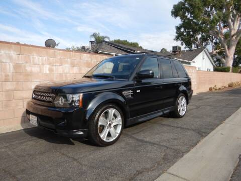 2012 Land Rover Range Rover Sport for sale at California Cadillac & Collectibles in Los Angeles CA