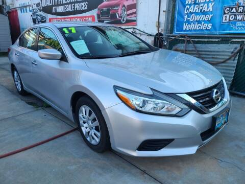 2017 Nissan Altima for sale at LIBERTY AUTOLAND INC - LIBERTY AUTOLAND II INC in Queens Villiage NY