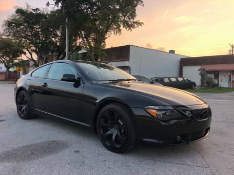 2006 BMW 6 Series for sale at Florida Cool Cars in Fort Lauderdale FL