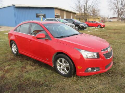 2012 Chevrolet Cruze for sale at Wholesale Car Buying in Saginaw MI