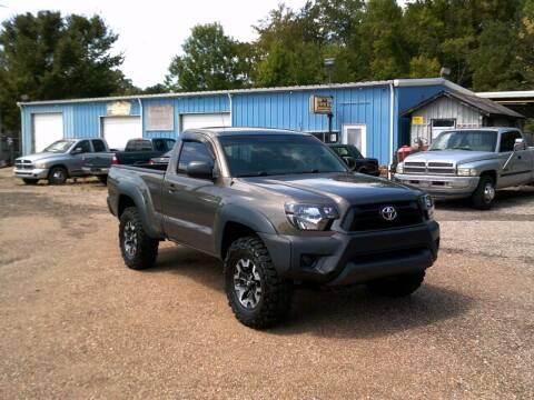 2012 Toyota Tacoma for sale at Tom Boyd Motors in Texarkana TX