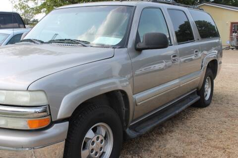 2002 Chevrolet Suburban for sale at Abc Quality Used Cars in Canton TX