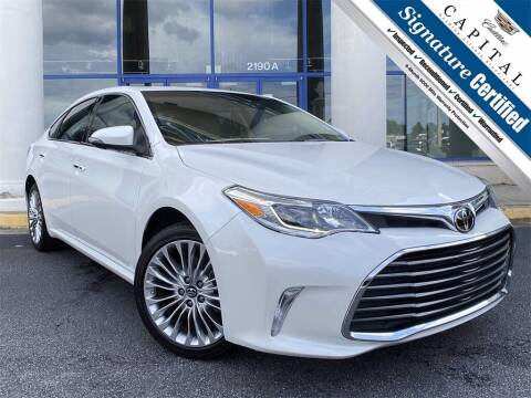 2017 Toyota Avalon for sale at Southern Auto Solutions - Capital Cadillac in Marietta GA