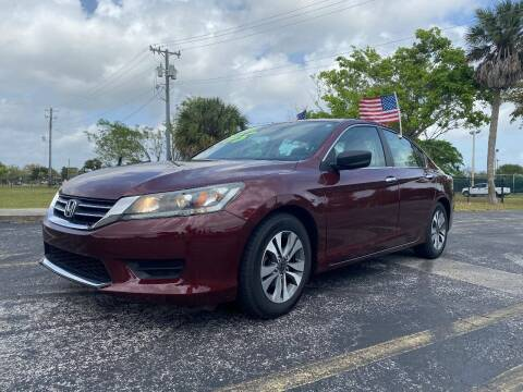 2013 Honda Accord for sale at Lamberti Auto Collection in Plantation FL