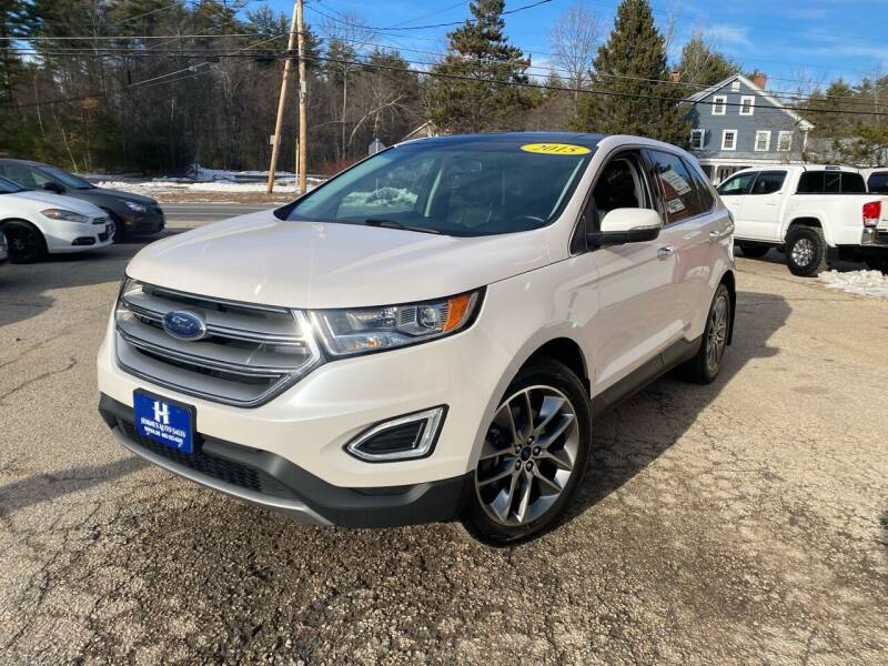 2015 Ford Edge for sale at Hornes Auto Sales LLC in Epping NH