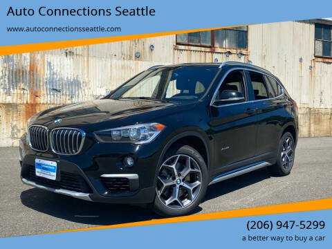 2018 BMW X1 for sale at Auto Connections Seattle in Seattle WA