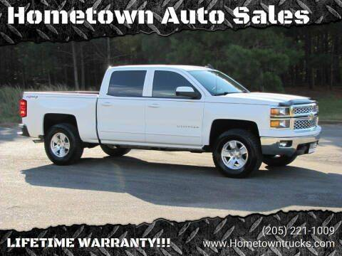 2015 Chevrolet Silverado 1500 for sale at Hometown Auto Sales - Trucks in Jasper AL