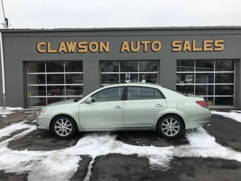 2008 Toyota Avalon for sale at Clawson Auto Sales in Clawson MI