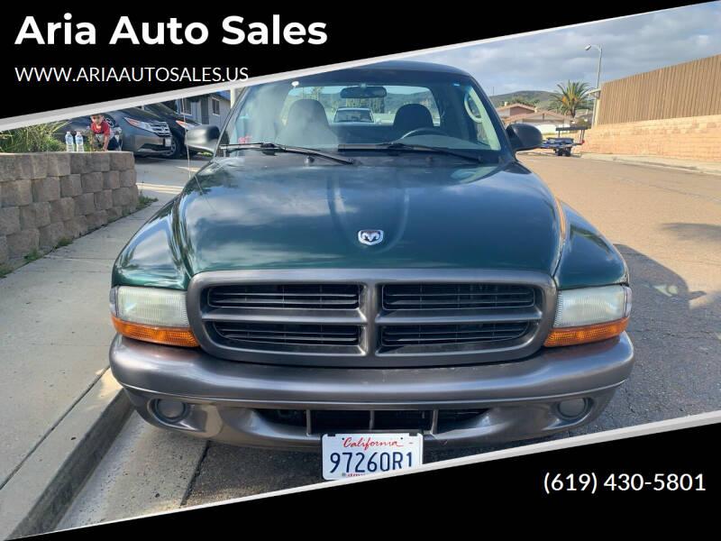 2002 Dodge Dakota for sale at Aria Auto Sales in El Cajon CA