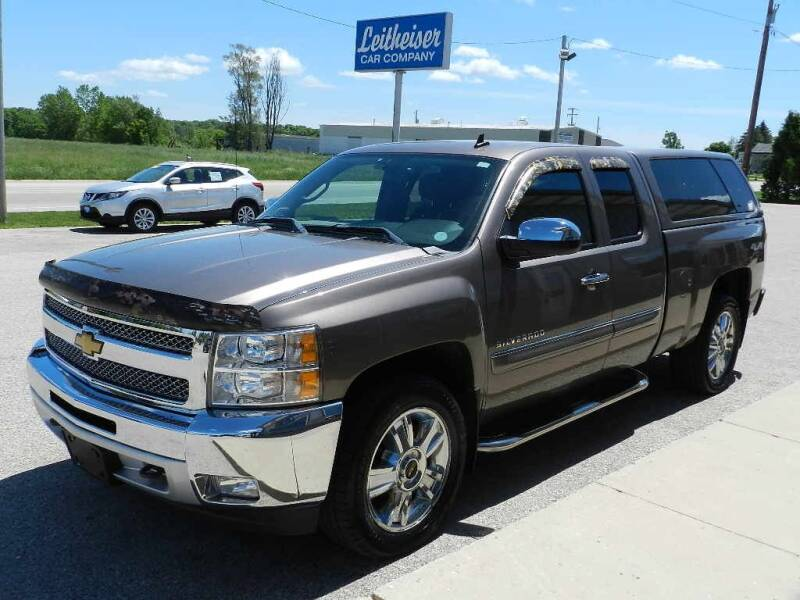 2012 Chevrolet Silverado 1500 for sale at Leitheiser Car Company in West Bend WI