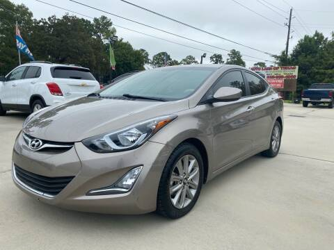 2014 Hyundai Elantra for sale at Auto Land Of Texas in Cypress TX