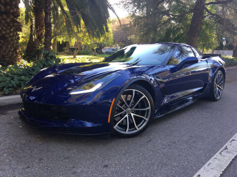 2018 Chevrolet Corvette for sale at Valley Coach Co Sales & Lsng in Van Nuys CA