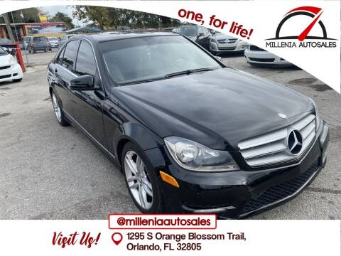2012 Mercedes-Benz C-Class for sale at Millenia Auto Sales in Orlando FL