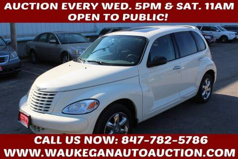 2004 Chrysler PT Cruiser for sale at Waukegan Auto Auction in Waukegan IL