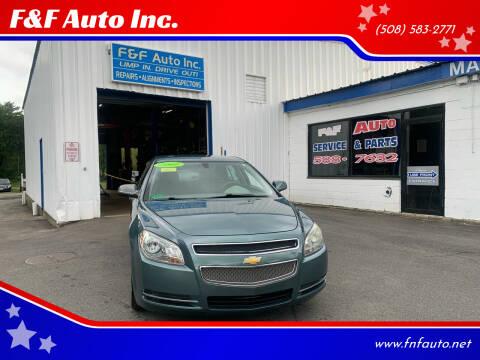 2009 Chevrolet Malibu for sale at F&F Auto Inc. in West Bridgewater MA