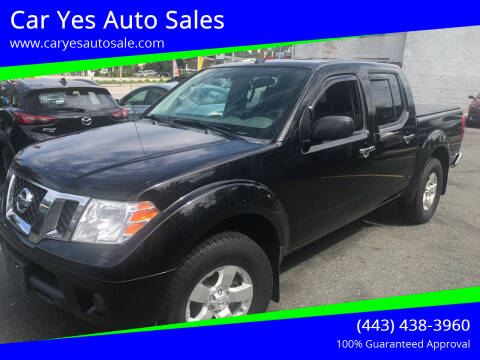 2013 Nissan Frontier for sale at Car Yes Auto Sales in Baltimore MD