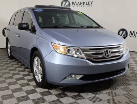 2013 Honda Odyssey for sale at Markley Motors in Fort Collins CO
