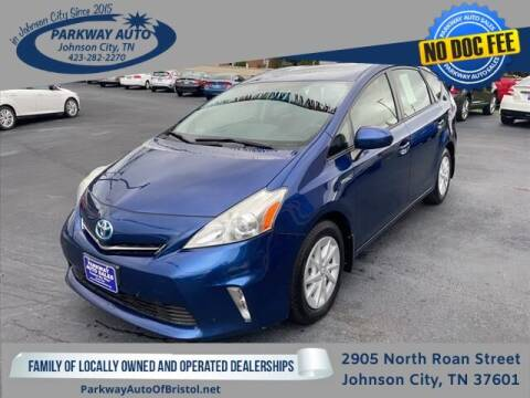 2013 Toyota Prius v for sale at PARKWAY AUTO SALES OF BRISTOL - PARKWAY AUTO JOHNSON CITY in Johnson City TN