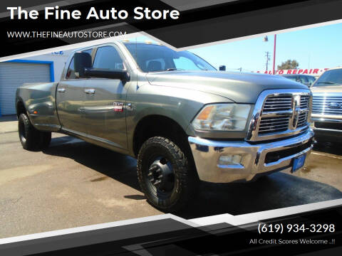2011 RAM Ram Pickup 3500 for sale at The Fine Auto Store in Imperial Beach CA