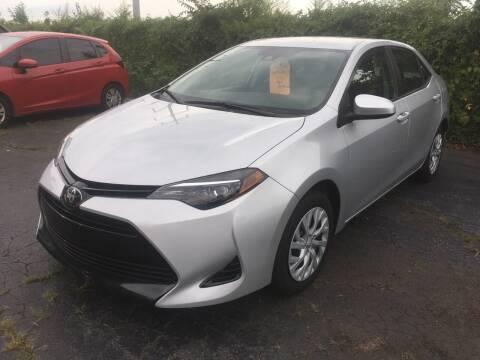 2018 Toyota Corolla for sale at MELILLO MOTORS INC in North Haven CT