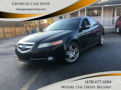 2007 Acura TL for sale at Georgia Car Shop in Marietta GA