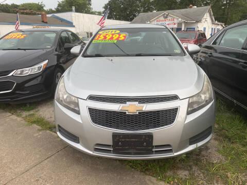 2011 Chevrolet Cruze for sale at Advantage Motors in Newport News VA