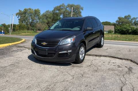 2014 Chevrolet Traverse for sale at InstaCar LLC in Independence MO