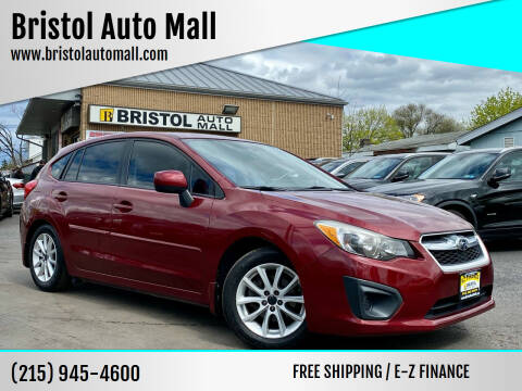 2014 Subaru Impreza for sale at Bristol Auto Mall in Levittown PA