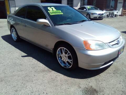 2002 Honda Civic for sale at Larry's Auto Sales Inc. in Fresno CA
