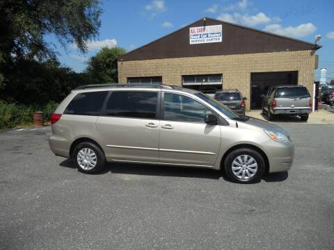 2004 Toyota Sienna for sale at All Cars and Trucks in Buena NJ
