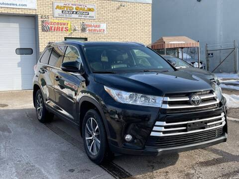 2018 Toyota Highlander for sale at ACE IMPORTS AUTO SALES INC in Hopkins MN