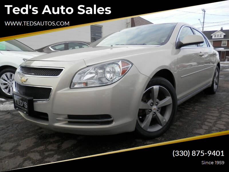 2009 Chevrolet Malibu for sale at Ted's Auto Sales in Louisville OH