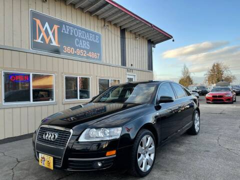 2007 Audi A6 for sale at M & A Affordable Cars in Vancouver WA