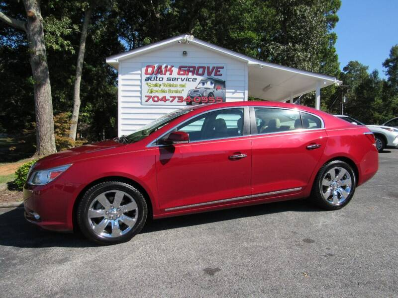 2013 Buick LaCrosse for sale at Oak Grove Auto Sales in Kings Mountain NC