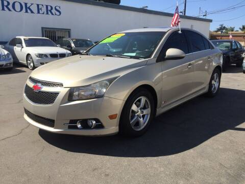 2011 Chevrolet Cruze for sale at Oxnard Auto Brokers in Oxnard CA