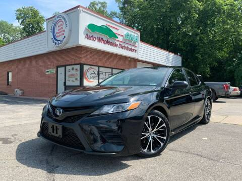 2019 Toyota Camry Hybrid for sale at GMA Automotive Wholesale in Toledo OH