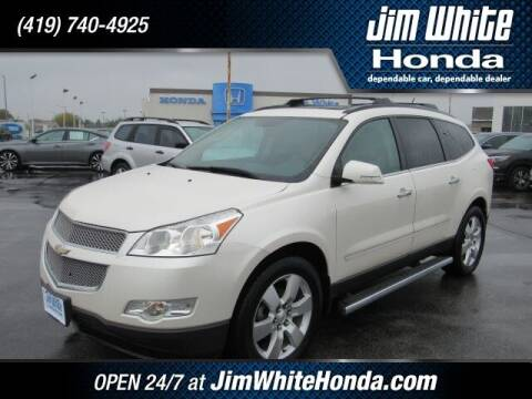 2012 Chevrolet Traverse for sale at The Credit Miracle Network Team at Jim White Honda in Maumee OH